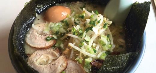 鹿児島ラーメン(のり、卵入り・800円)