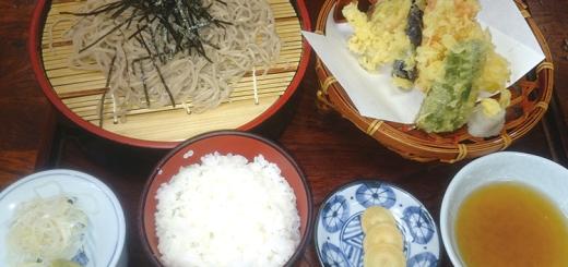 そば定食(1290円)