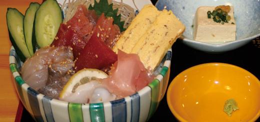 海鮮丼(650円)