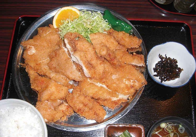 山賊焼き定食(1000円)