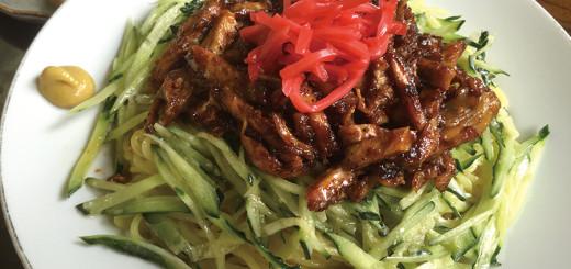 バンバンチー麺(700円)