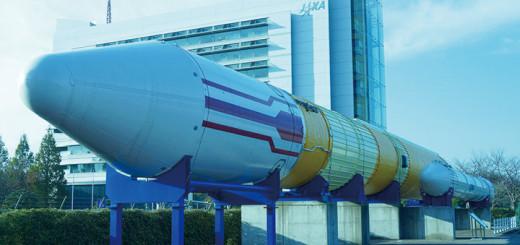 H-ⅡロケットJAXA本部棟