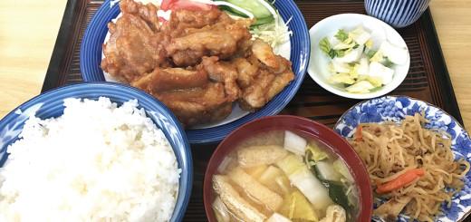 とり唐揚げ定食(850円)