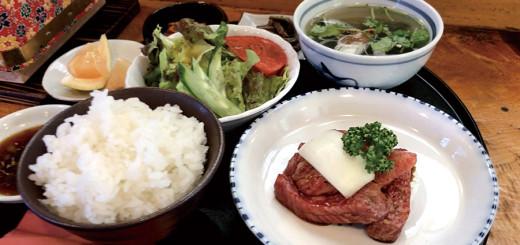 カルビ定食(1200円)