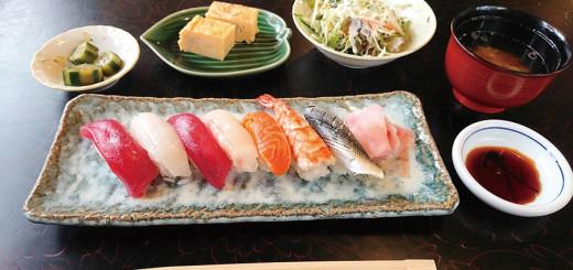 にぎり寿司セット(1,000円/税込み)